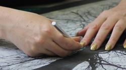 Papercutting Close-Up