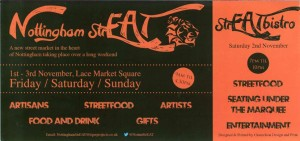 Nottingham StrEAT Flyer