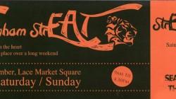 Nottingham StrEAT Flyer