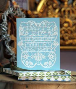 Birthday Card for Her Majesty