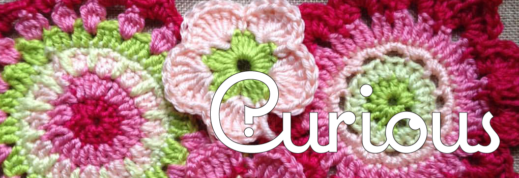 Curious Crochet Flower Banner